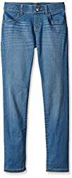 The Children's Place Big Girls Pull-On Denim Jeggings, Blue Bell Wash, 4