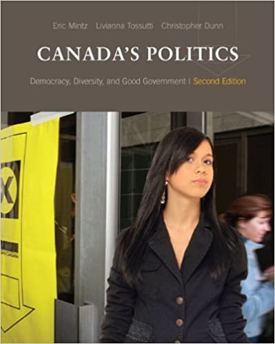 Canada's Politics: Democracy, Diversity and Good Government