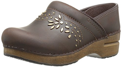 Dansko Women's Patricia Mule, Antique Brown Oiled, 41 EU/10.5-11 M US ()