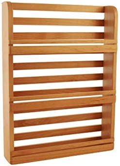 NEW Out of the Woods of Oregon 3 Tier Solid Red Alder Hardwood Spice Rack