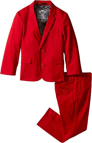 Appaman Kids Baby Boy's Two-Piece Mod Suit (Toddler/Little Kids/Big Kids) Red Suit
