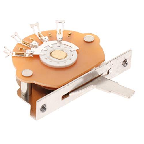 - B Blesiya Alloy 5Way Electric Guitar Pickup Selector Toggle String Instrument Parts