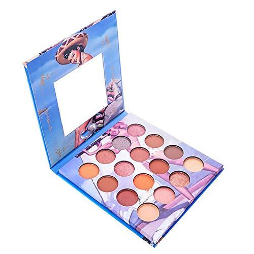 Vintage Style 16 Colors Makeup Eyeshadow Palette Mineral