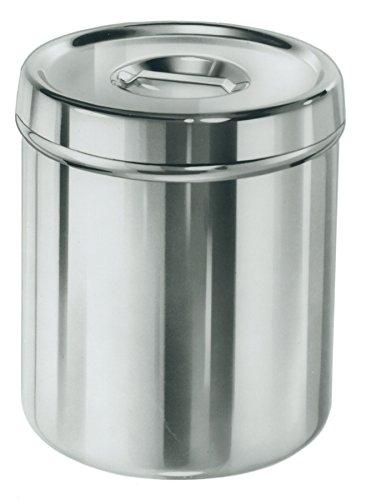 medline DYND053JZ Stainless Steel Dressing Jar Cover, 3 q...