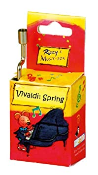 Fridolin - 59013 - Boîte à Musique - Anniversary Song - Rizzy's - Jaune