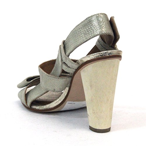 Juicy Couture Open Toe Talón Talla 3,5 Beige - piedra