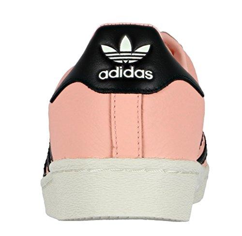Adidas Man Superstar Boost Skor 11 M Oss Korall Hassel Rosa Svart Vit