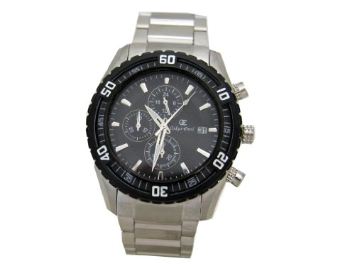 Oskar Emil Quatro Men's Chronograph Stainless Steel Watch