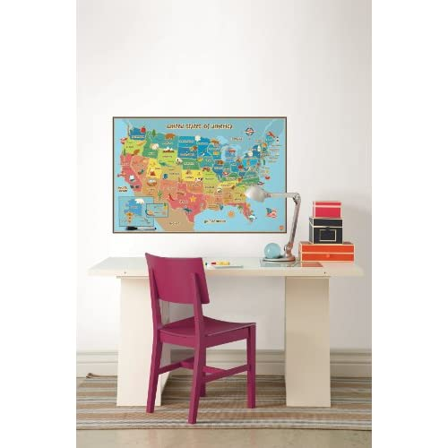 Wall Pops WPE0623 Kids USA Dry Erase Map Decal Wall Decals 30%OFF  sc 1 st  Real Evaluation & Wall Pops WPE0623 Kids USA Dry Erase Map Decal Wall Decals 30%OFF ...