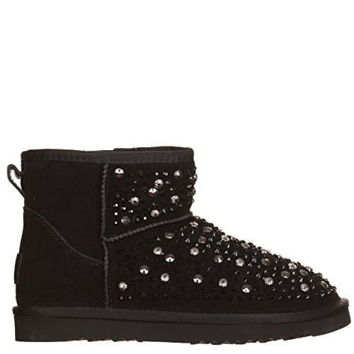 WOZ Black Black 40 Black Boots Women's EU CCq478