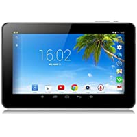 Tiptiper UK plug 9 inch Android Tablet PC A33 Quad Core 16GB 1.5GHz 1080P TFT Screen White With Wifi Bluetooth