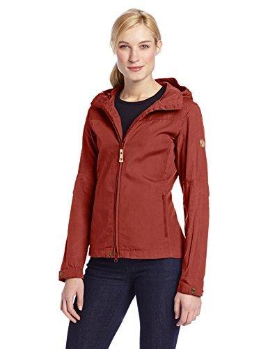 Unique Rouge Stina Veste llr profond Fj rouge Jacket Taille ven Femme Profond SFn11A