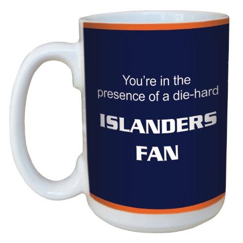 Tree-Free Greetings lm44186 Islanders Hockey Fan Ceramic Mug with Full-Sized Handle, 15-Ounce
