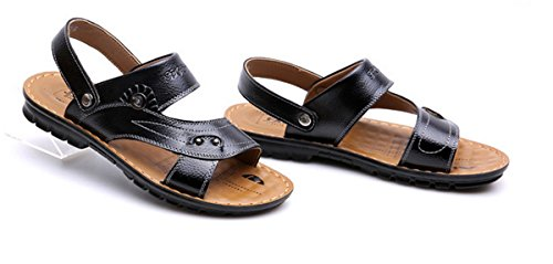 Schwarz Schuhe 38 Herren Sandalen Pantoletten Gr LOBTY Flats Zehentrenner 44 Slipper Sommer Zehentrenner Clogs Bio 6qCqdvRw