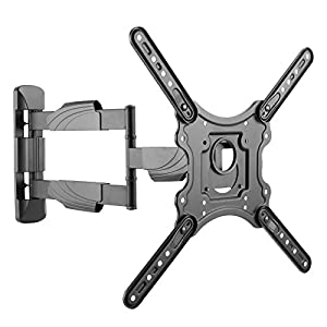 Intecbrackets ® – Long 610mm reach ultra slim fitting strong cantilever tilt and swivel TV wall mount bracket fits 42 43 44 46 47 48 49 50 51 52 55 TV's – easy fit, no problem with our 37″ tele in