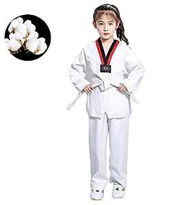 dududrz Dobok Taekwondo Hombre V Cuello Taekwondo Traje Judo ...
