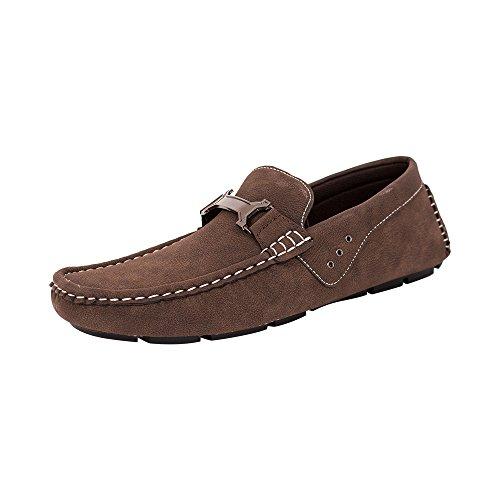 Beverl St Heren Schoenen Chic Mocassin Loafers (rds45 Bruin)