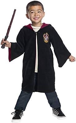 Harry Potter Gryffindor Toddler Black Robe Fancy Dress ...