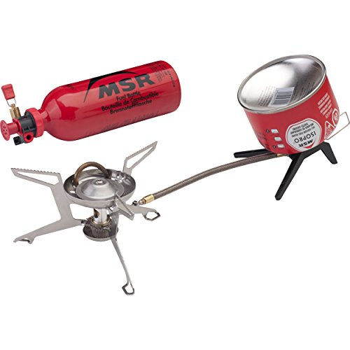 MSR WhisperLite Universal Canister and Liquid Fuel Stove (Gas Stove White)