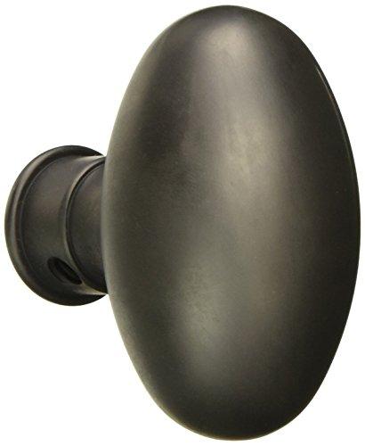 Baldwin Oval Door Knob - Baldwin Hardware 5025.102.IMR Estate Oval Knob Indoor Door Handle