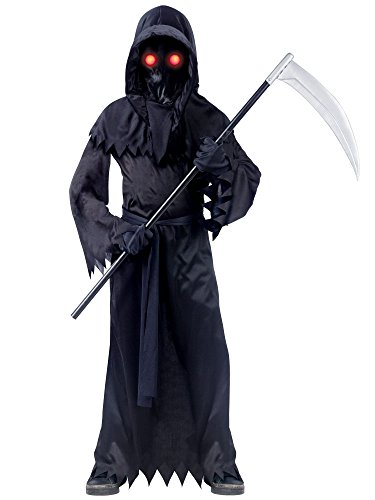 Grim Reaper Fade In/Out Unknown Phantom Costume, Child Small 2018