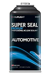 Cliplight  946KIT Super Seal Premium  A/C Stop Leak (Permanently Seals & Prevents Leaks in Auto A/C Systems)