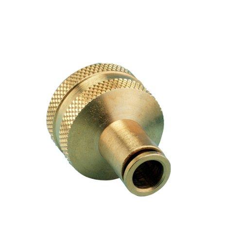 20 Pack - Orbit Misting System 3/8 Inch Brass Slip Lock Hose Faucet Adapter