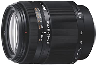 Sony SAL18250 Alpha DT 18-250mm f/3.5-6.3 High Magnification Zoom Lens from Sony