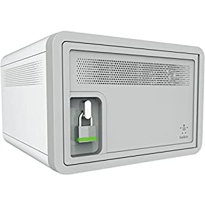 Belkin Secure and Charge Station with 2.4 Amp Full-Rate USB, Designed for School and Classroom from BEAX7