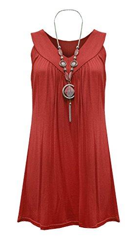 Fatal Fashion - Vestido - ajustado - para mujer Wine