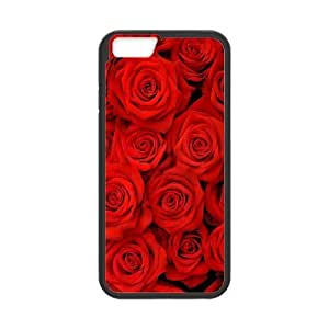 "ALICASE Diy Hard Cover Case Of Rose for iPhone 6 (4.7"") [Pattern-1]"