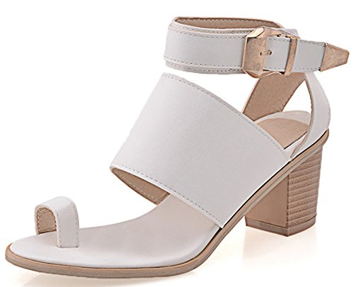 Strap Mid Heel Sandal - 9