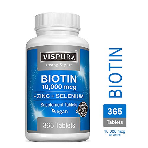 Biotin Vitamin Selenium Supplement Tablets