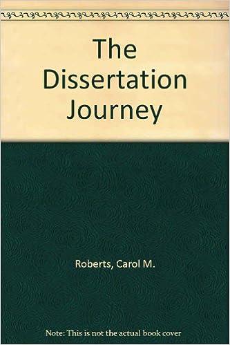 the dissertation journey third edition