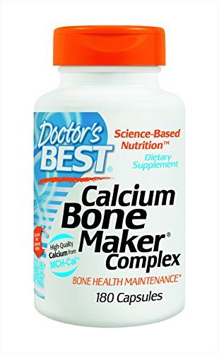 Meilleur Complexe de calcium des os Maker médical, capsules, 180-Count