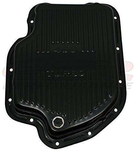 CHEVY/GM TURBO TH-400 STEEL TRANSMISSION PAN - EDP BLACK CFR Performance