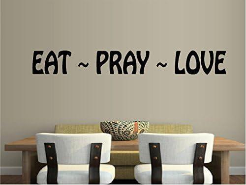Eat Pray Love Motivational Canvas Wall Art