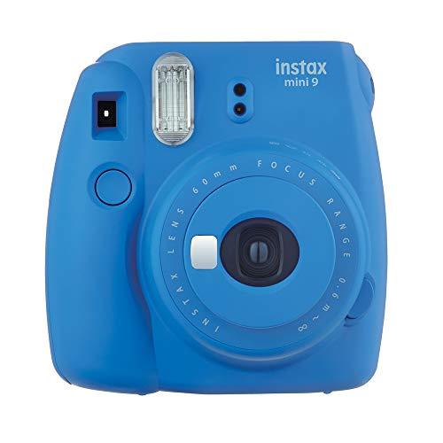 Fujifilm Cámara Instantánea Instax Mini 9, color Azul Cobalto