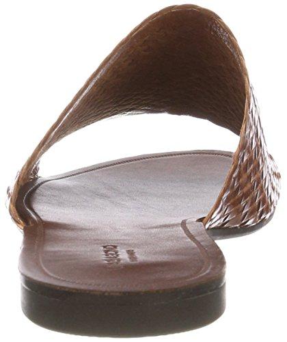 Vagabond Women's Tia Open Toe Sandals Brown (Cognac 27) M2iTN