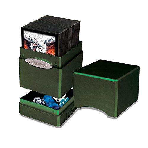 Deck Box: Radiant Amber Moss Satin Tower (Box Satin Deck)