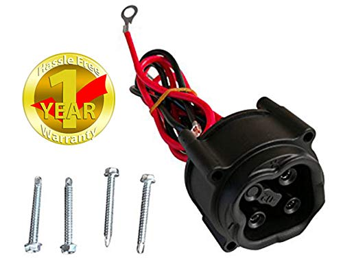 Yamaha Golf Cart 2008-2010 48-Volt Charger Plug Receptacle JW2-H6181-02-00