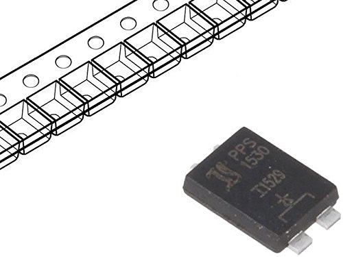 6x PPS1530-DIO Diode Schottky rectifying 30V 15A PowerSMD PPS1530 DIOTEC SEMICONDUCTOR