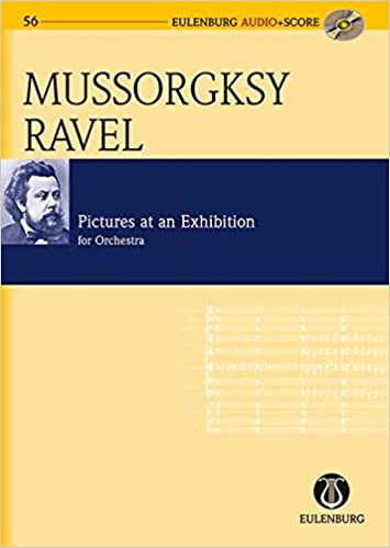 Télécharger des livres au format pdfPictures at an Exhibition: orchestrated by Maurice Ravel Eulenburg Audio+Score (French Edition) RTF