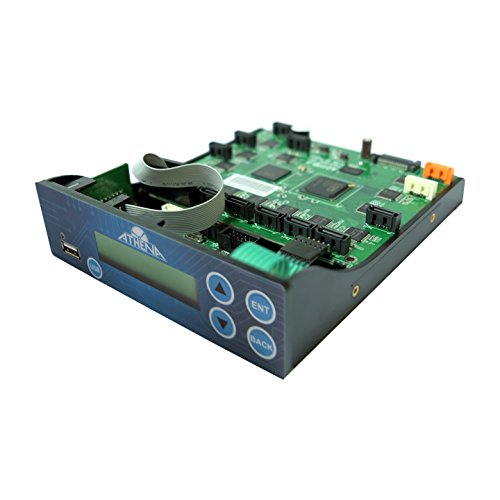 Athena Duo Series Controller with SATA Connections for USB Flash Memory to BD-R CD DVD Disc Duplication (Copystar Fax)