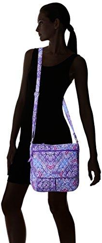 Signature Double Zip Vera Cotton Bradley Tapestry Mailbag Lilac 5qzWWanCO