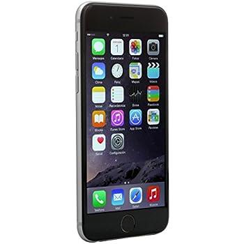 Apple iPhone 6 16 GB, Gris Desbloqueado (Tarjeta de regalo de Telcel)