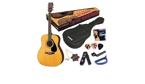 YAMAHA Pack Guitarra acústica F310P: Amazon.es: Instrumentos musicales