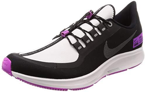 Nike Mens Air Zoom Pegasus 35 Shield Running Shoes (11, Black/Reflect Silver/Purple)