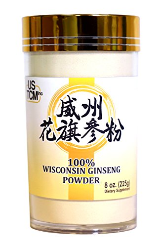 Wisconsin American Ginseng Powder 120 Mesh (8 oz)