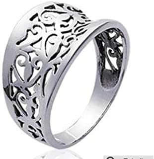 Bague Argent Homme Femme Inspiration Gypsy Collection Mode